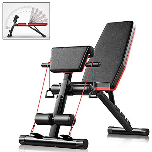 Adjustable Workout Bench Sit Up Bench Incline Decline Weight Gym Exercises Bench