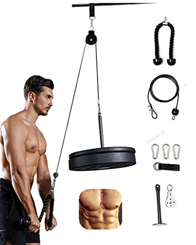 The Best Triceps Training Machine Fitness Pulley Cable System Pin Lifting Rope