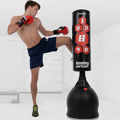 Free Standing Boxing Punch Bag Stand Kick Heavy MMA Martial Art Sport 5.5ft 6ft