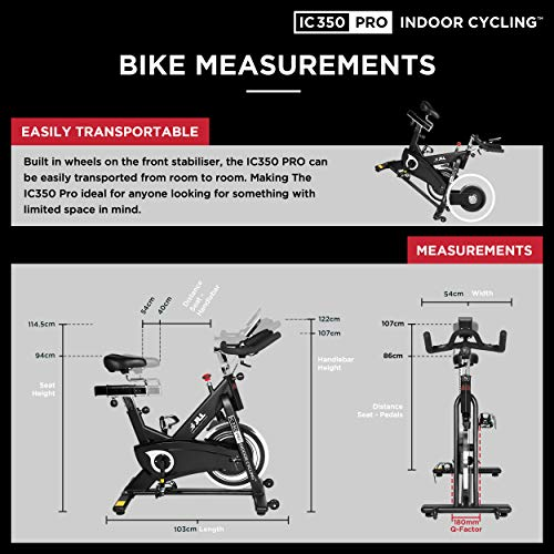 Exercise Bikes 7KG Fly Wheel Cycling Bicycle Cardio Fitness Training Stationary