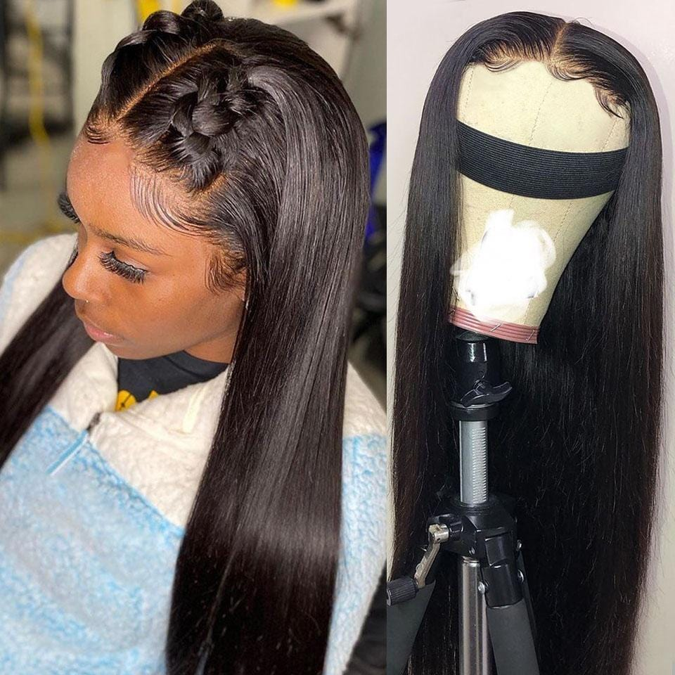 Swiss HD PERFECT UNDETECTABLE LACE Frontal Straight Wig