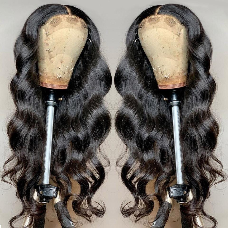 Silky Smooth Sleek Loose Body Wave Lace Frontal Wig