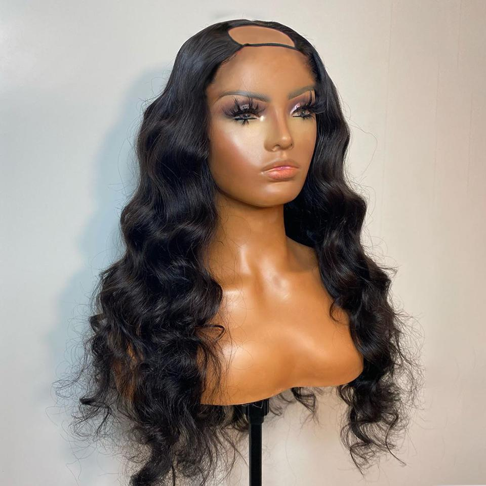 NEW! Rihanna Style Super Body Wave U Part