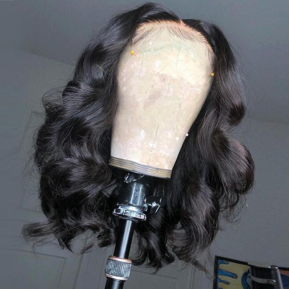 Where's The Lace!! Swiss HD Transparent Rihanna Style Lace Frontal Loose Wave Wig