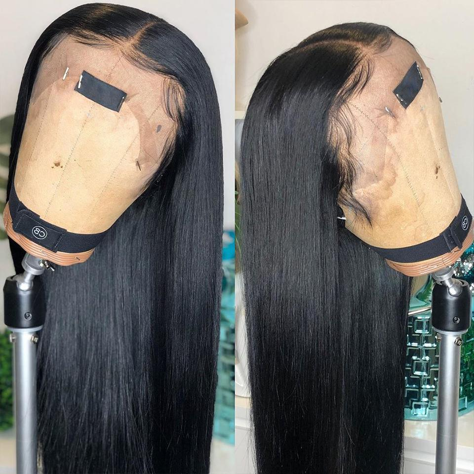 Natural Black Straight Lace Wigs (Ariana Grande Styles)