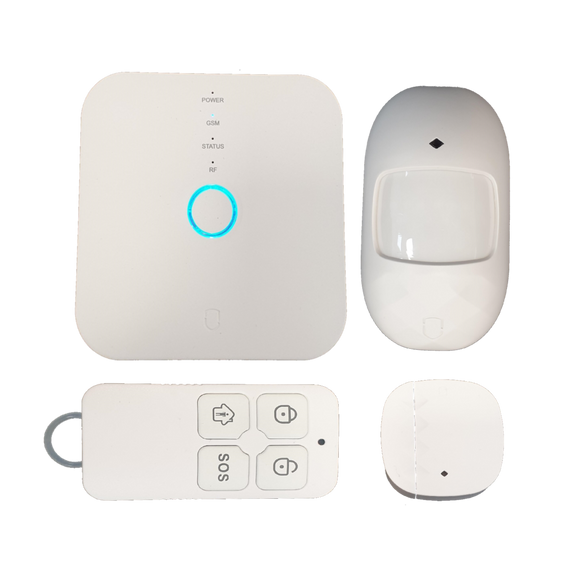 Smart Home alarm system & SOS Call