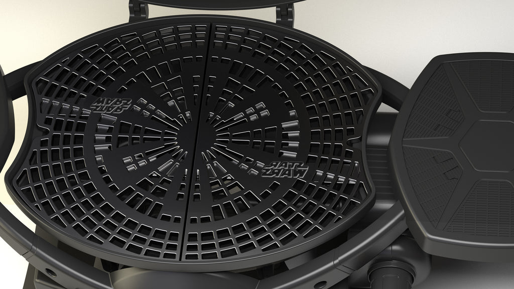 Star Wars Tie Fighter Grill Cast Iron Cooking Surface