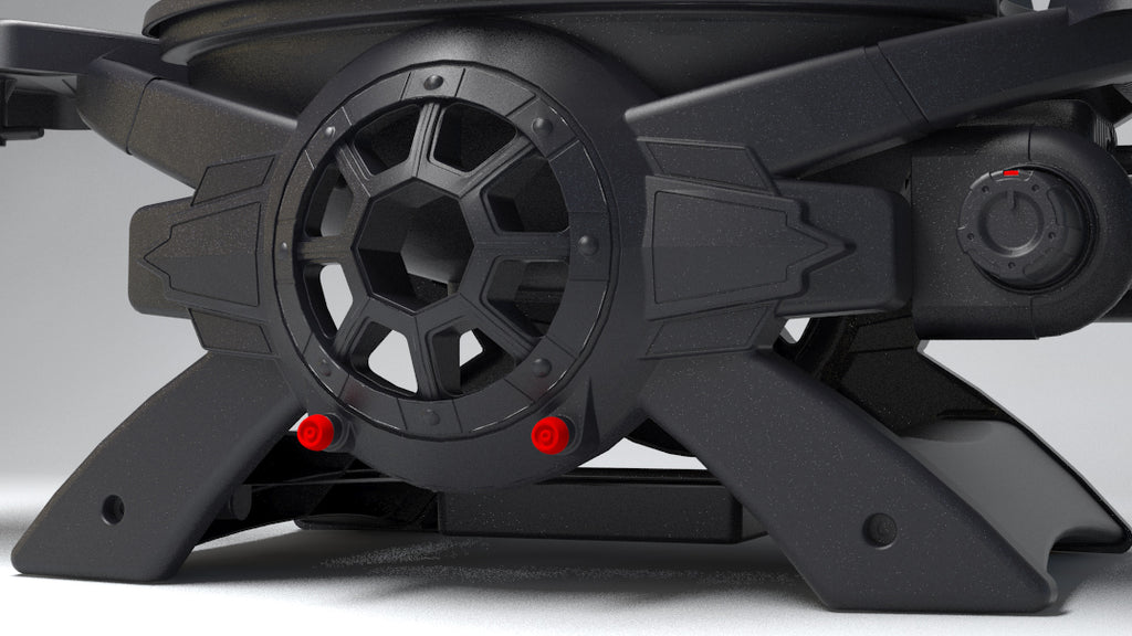 Star Wars Tie Fighter Grill Legs