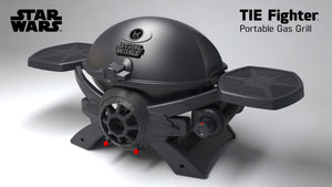 Star Wars Tie Fighter Grill