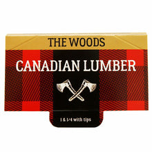 Load image into Gallery viewer, CANADIAN LUMBER WOODS 1 1/4 ROLLING PAPERS W/ TIPS