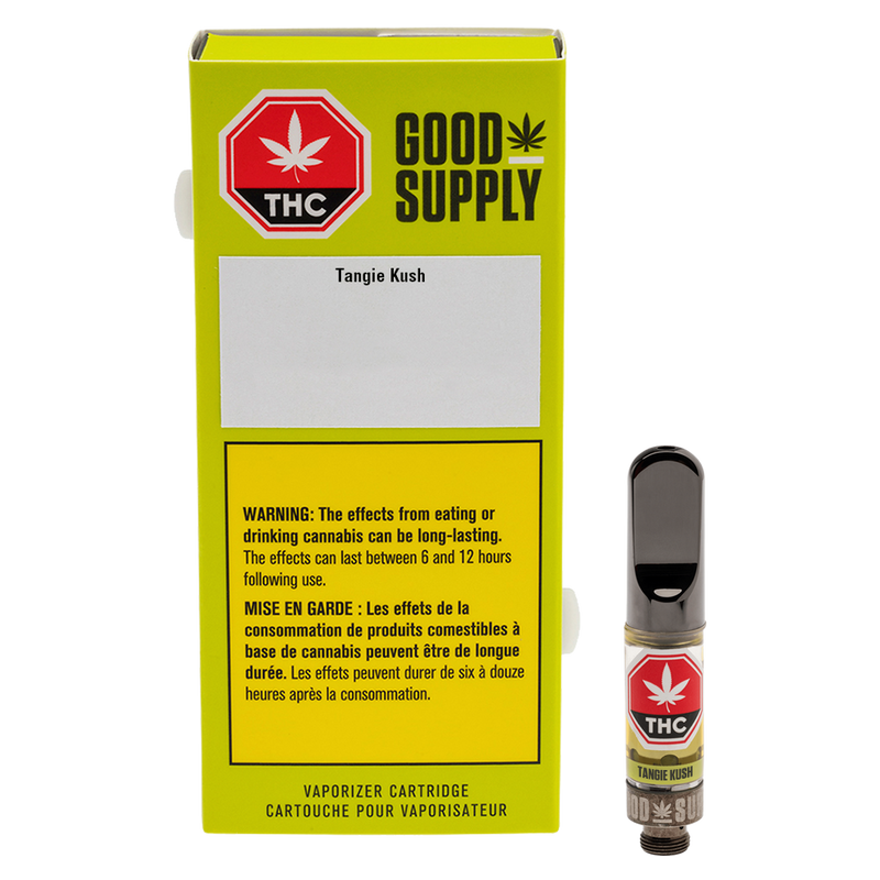 GOOD SUPPLY TANGIE KUSH (S) 510 - 0.5G