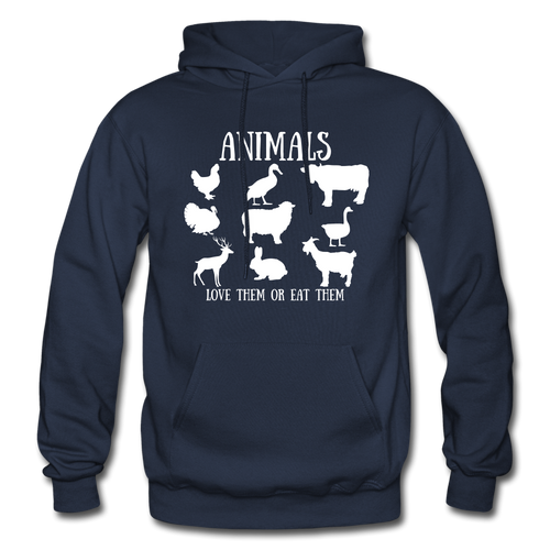 Love Them or Eat Them Hoodie - navy