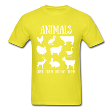 Load image into Gallery viewer, Love Them or Eat Them T-Shirt - yellow