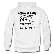 "Load image into Gallery viewer, ""IS FOR ME?"" Hoodie - white"