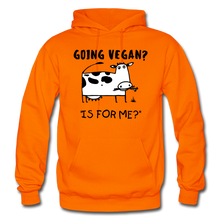 "Load image into Gallery viewer, ""IS FOR ME?"" Hoodie - orange"