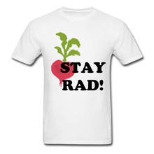 "Load image into Gallery viewer, ""Stay Rad!"" T-Shirt - white"