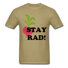 "Load image into Gallery viewer, ""Stay Rad!"" T-Shirt - khaki"
