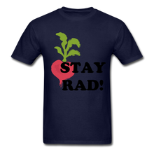 "Load image into Gallery viewer, ""Stay Rad!"" T-Shirt - navy"
