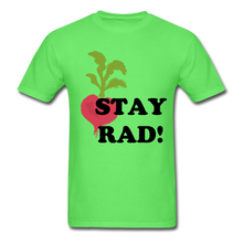 "Load image into Gallery viewer, ""Stay Rad!"" T-Shirt - kiwi"