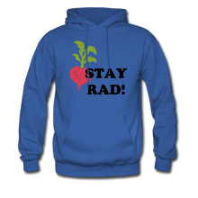"Load image into Gallery viewer, ""Stay Rad!"" Hoodie - royal blue"