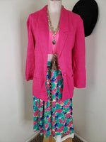Load image into Gallery viewer, Pink Oversize Blazer w/ Pockets