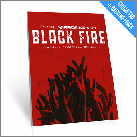 Guitar Tab - Black Fire (with Backing Track)