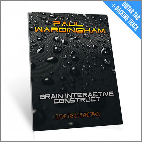 Guitar Tab - Brain Interactive Construct (with Backing Track)