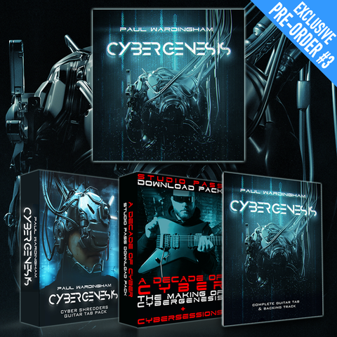 "CYBERGENESIS - ""Cyber Shredder"" Digital Pre-Order #3"