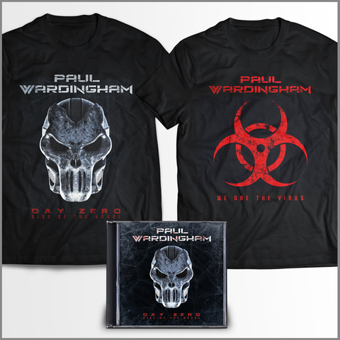DAY ZERO I - (CD + 2 SHIRTS!) FREE SHIPPING!