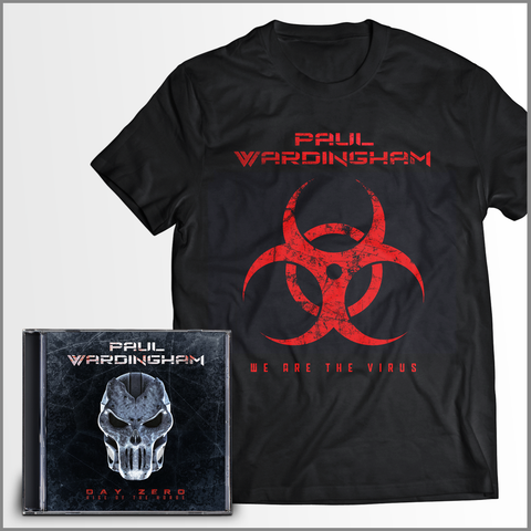 DAY ZERO I - (CD + WE ARE THE VIRUS Shirt) FREE SHIPPING!