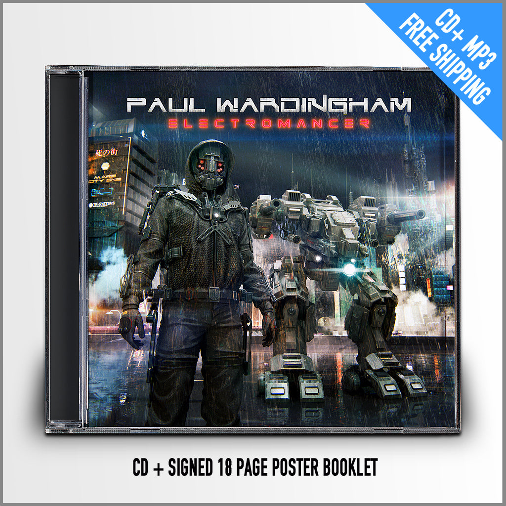 Paul Wardingham - Electromancer (CD + download)