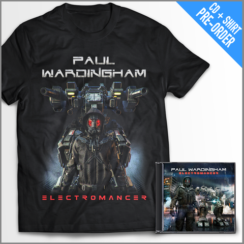 Electromancer Pre-Order #1 (CD/T-Shirt Pack) FREE SHIPPING!