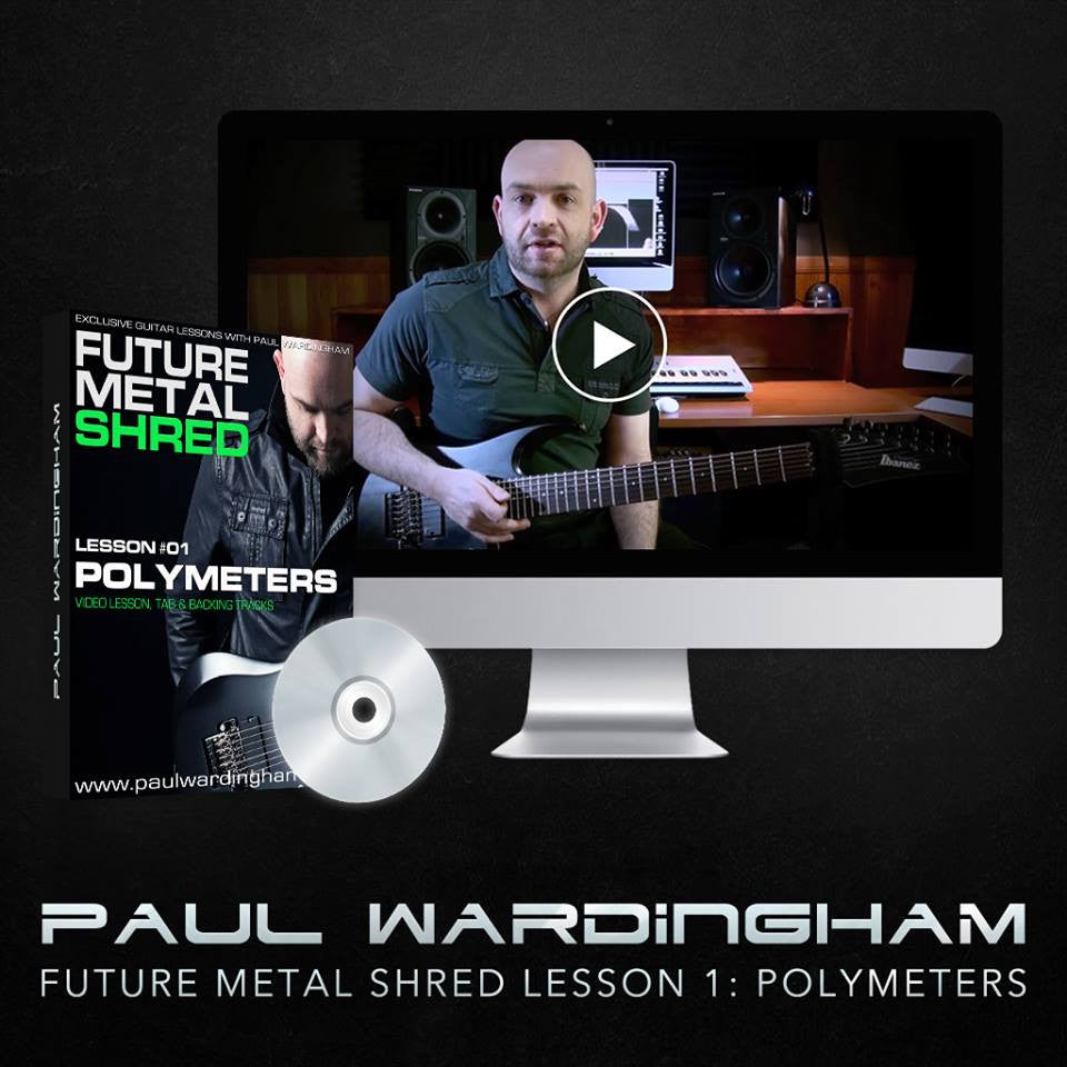 Future Metal Shred #01 - Polymeters (Video Lesson)