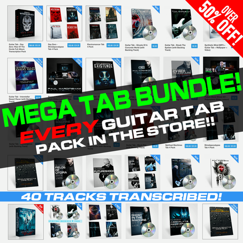 MEGA TAB BUNDLE! - 40 Tabs & Backings - 50% off