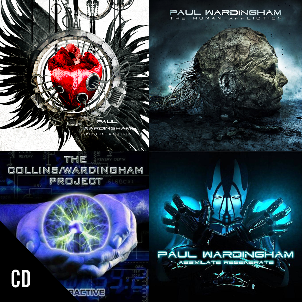 4 Albums (CD + MP3 download) FREE SHIPPING WORLDWIDE!