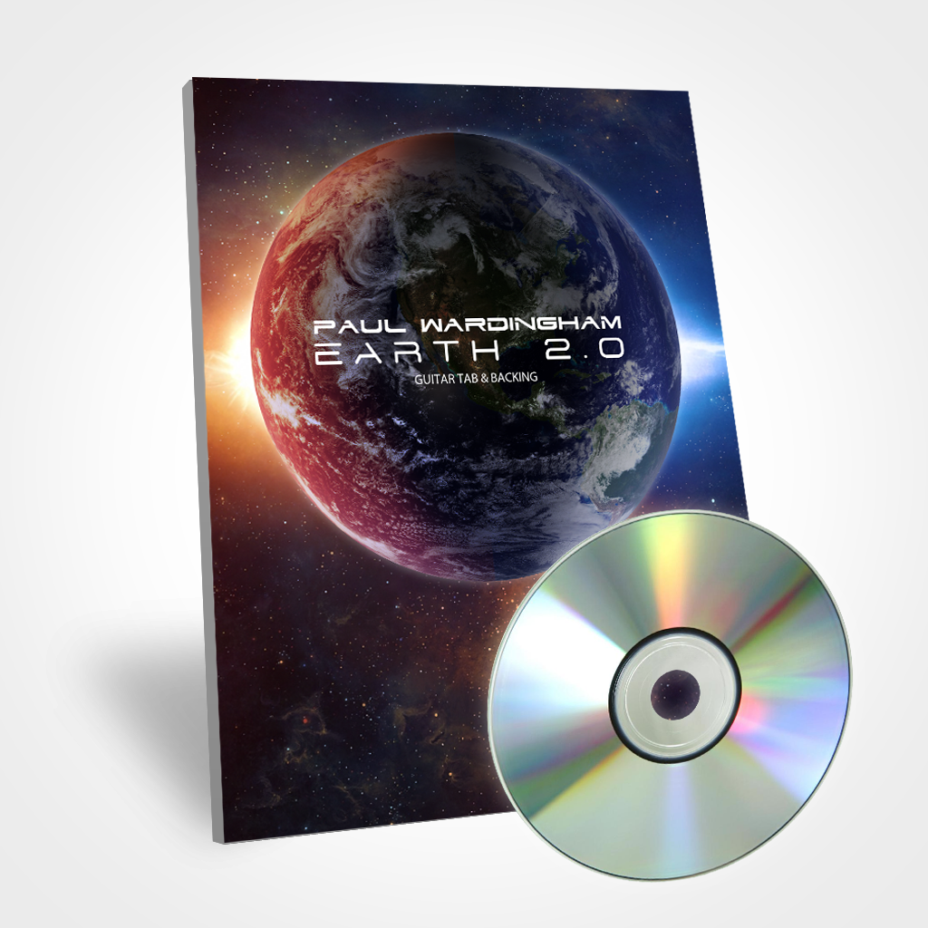Guitar Tab - Earth 2.0 (with Backing Tracks)