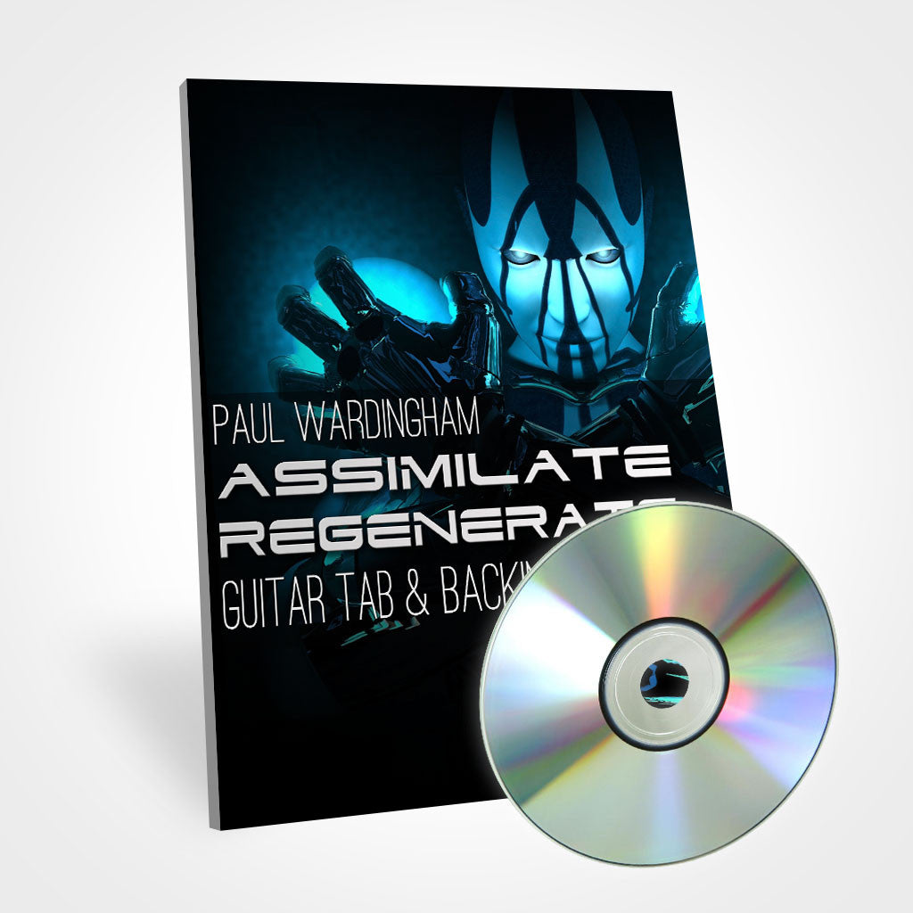 Guitar Tab - Assimilate Regenerate (with Backing Track)