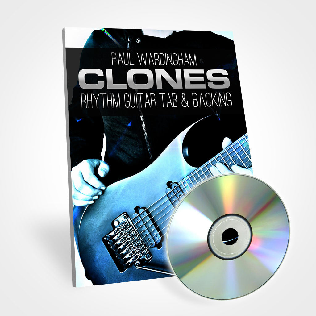 Guitar Tab - Clones (with Backing Track)