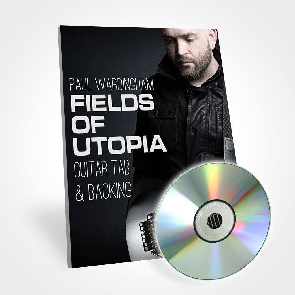 Guitar Tab - Fields of Utopia (with Backing Track)