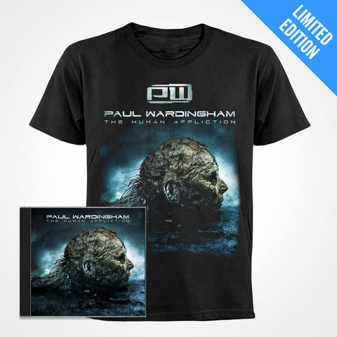 Shirt + CD + MP3 (Combo) - The Human Afflicton