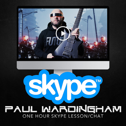 1 Hour Skype Lesson with Paul Wardingham