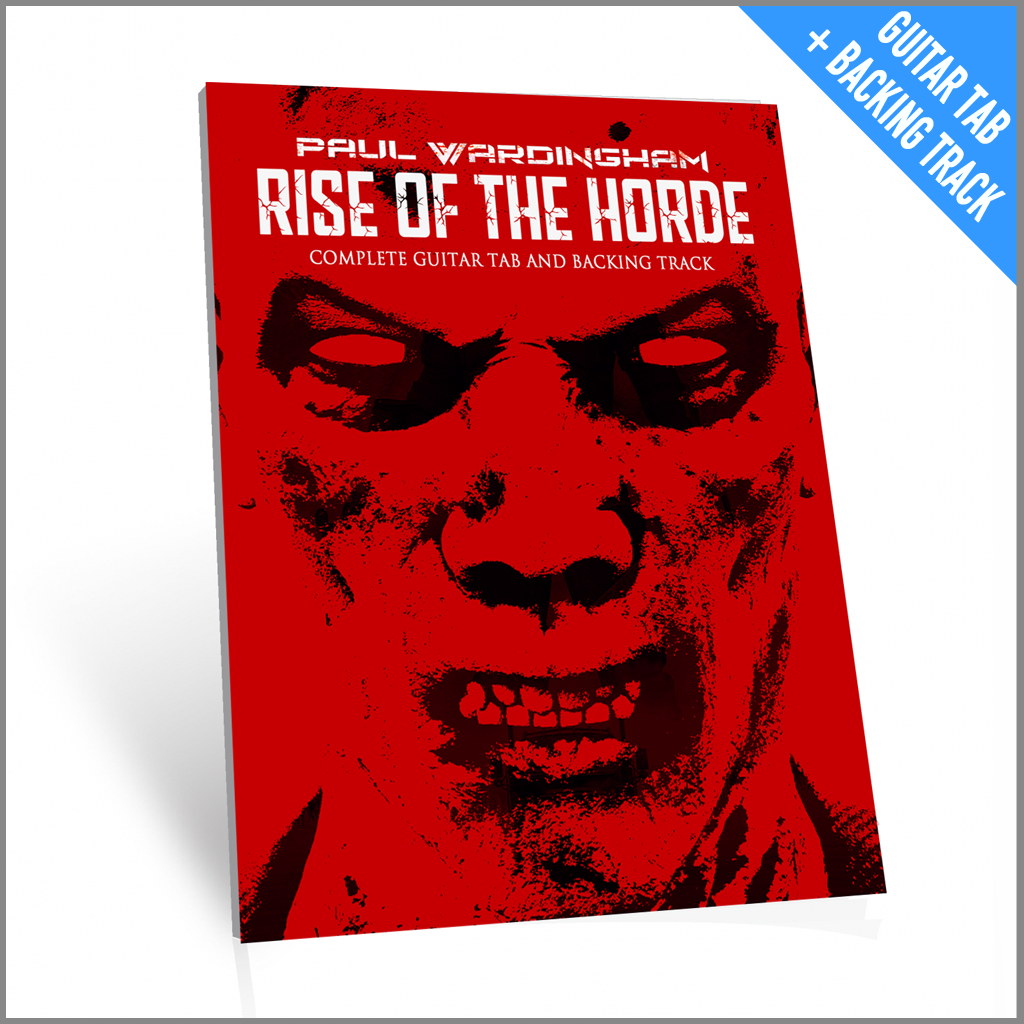 Guitar Tab - Rise Of The Horde (with Backing Track)