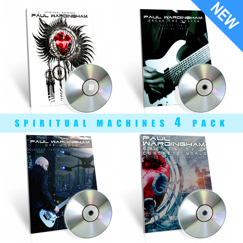 Spiritual Machines Tab 4 Pack