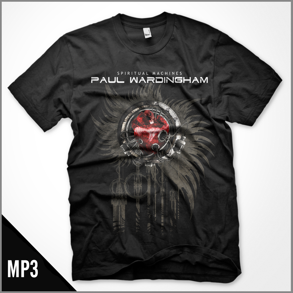 Shirt - MP3 (Combo) - Spiritual Machines
