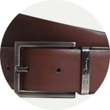 Brown calf leather