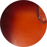 Hand finished leather