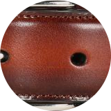 Hand antiqued leather