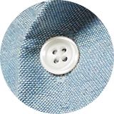 Faux mother of pearl buttons