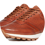 Waxy commander leather upper