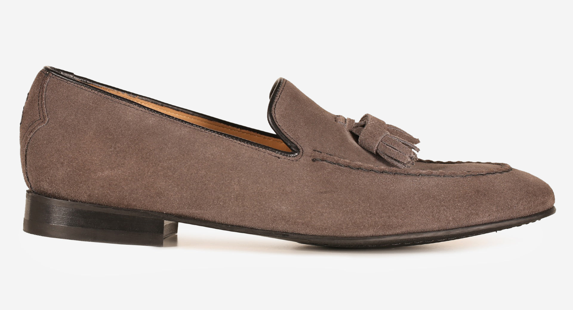 Suede Tassle Loafer